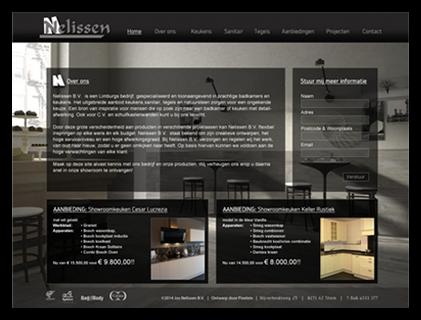 website project jos nelissen - badkamer en keuken specialist